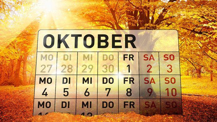 Wetter 16 Tage: Unterkühlter Monatswechsel - aber Hoffnung auf goldenen Oktober