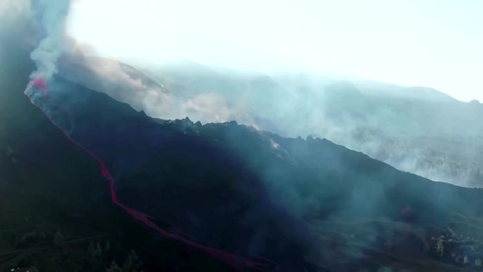 Lava auf La Palma nähert sich der Küste – giftige Gaswolken drohen