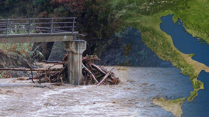 Europarekord! Weiterhin Sintflut-Unwetter am Mittelmeer