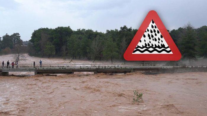 Unwetter in Griechenland und am Balkan! Sturzfluten drohen