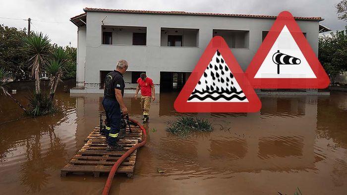 Unwetterserie von Italien bis Griechenland: Sturzfluten und Medicane drohen!