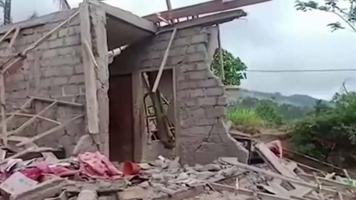 Mehrere Tote: Heftiges Erdbeben auf Bali