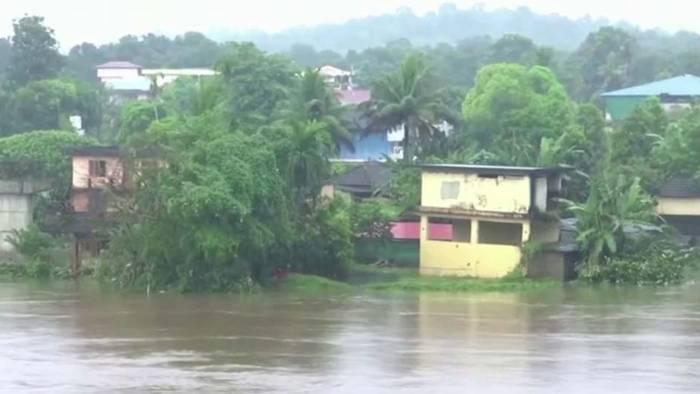 Heftige Überflutungen mit mehreren Toten in Südindien