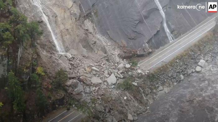 Sturzfluten nach Dürre: Erdrutsche und Hochwasser in Kalifornien