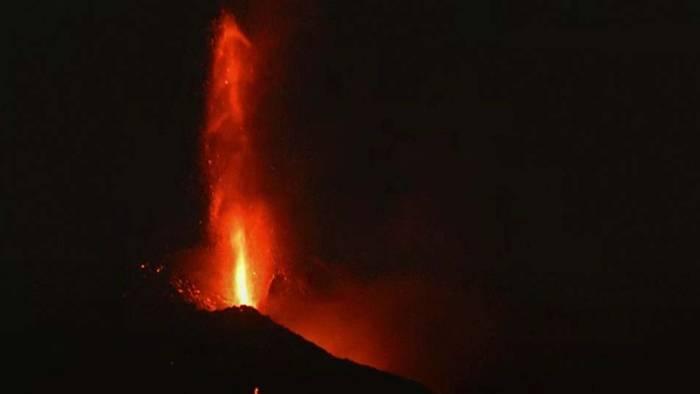 Nach Kraterzusammenbruch: La Palma Vulkan aktiver als je zuvor