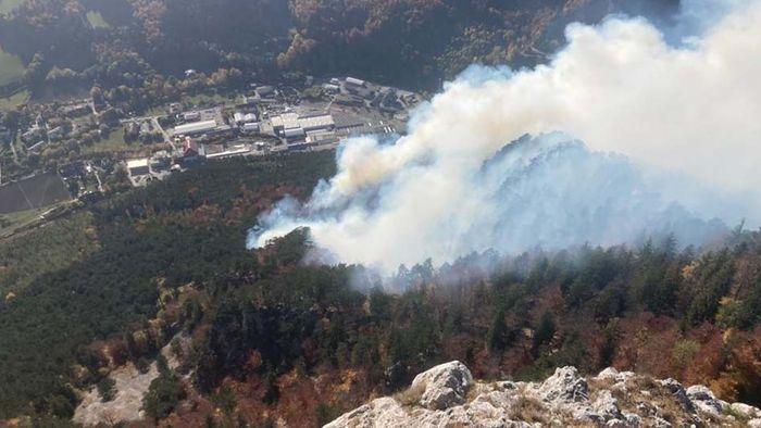 Interview zum Waldbrand in Österreich: Wird das Wetter zur Gefahr?