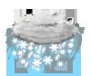 starker Schneeregen