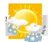 leichter Schnee / Regenschauer