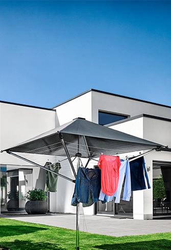 Sonne pur - Ihre Wäsche bleicht nicht aus