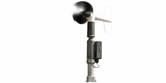Propelleranemometer